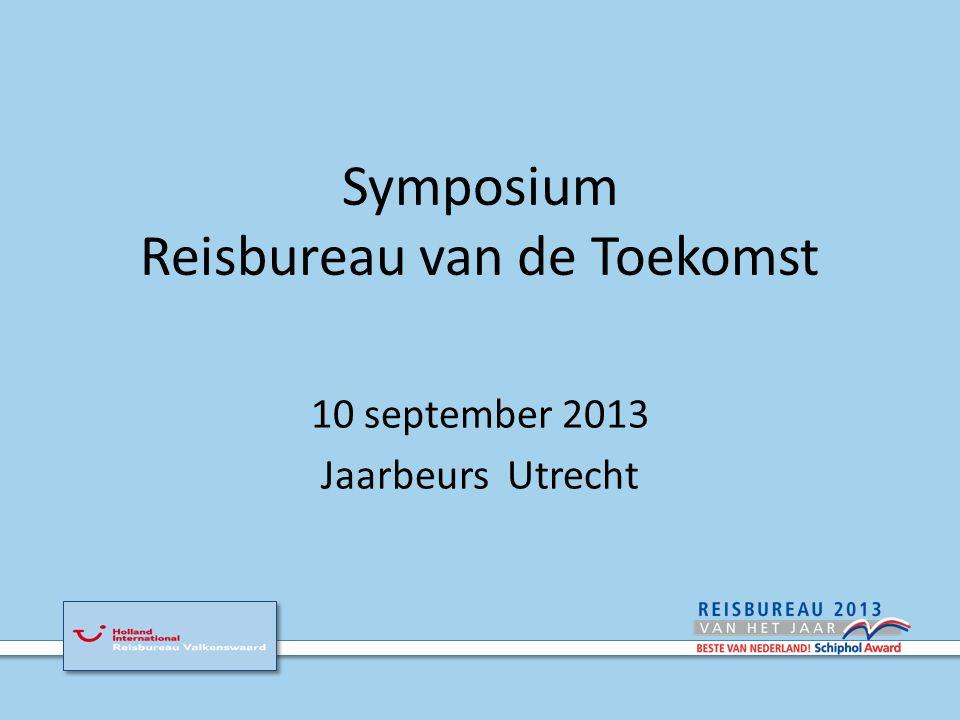 Symposium Is er toekomst voor het reisbureau .En hoe nu verder.