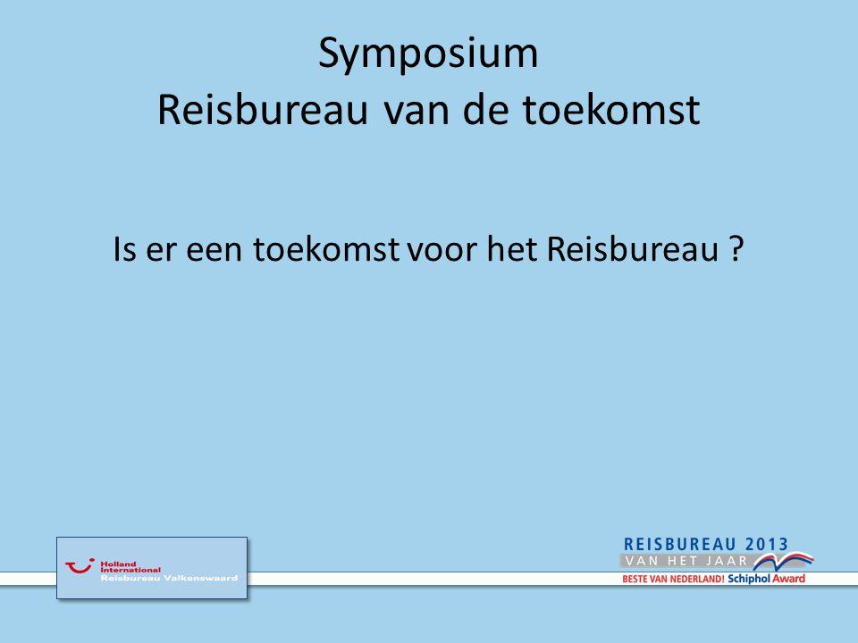 Symposium Reisbureau van de toekomst