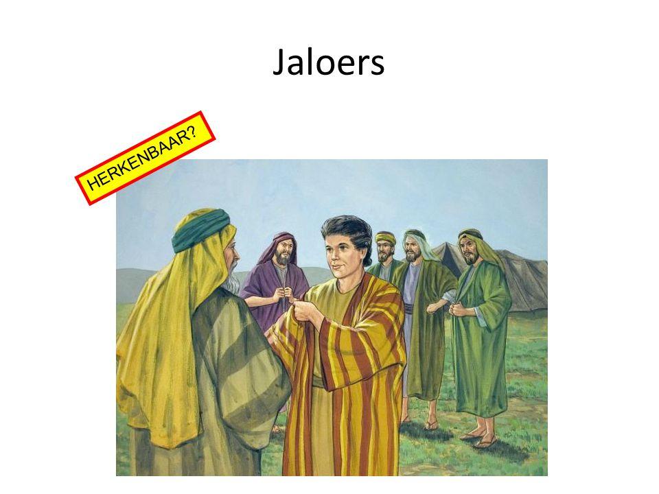 Jaloers HERKENBAAR?
