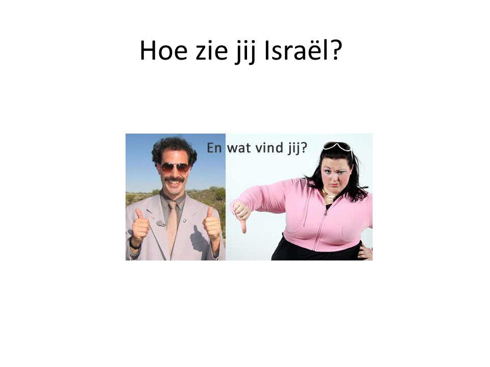 Hoe zie jij Israël?