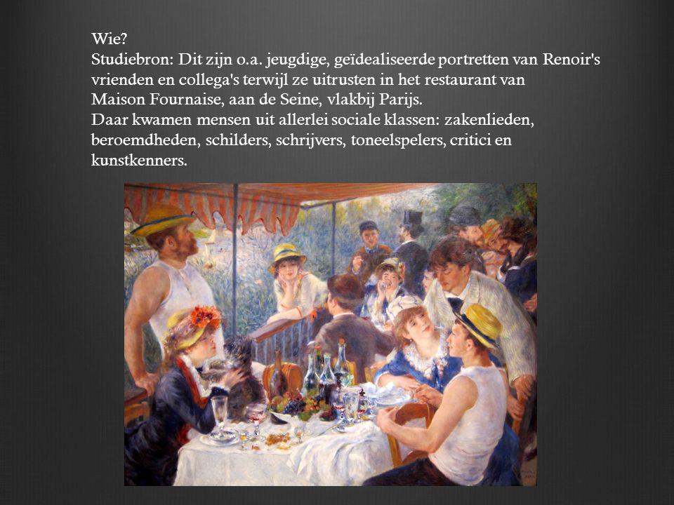 Aline Charigot: naaister en toekomstige Mrs.Renoir.