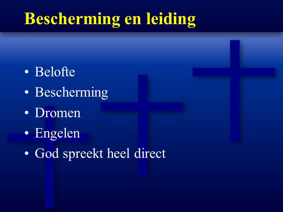 Bescherming en leiding Belofte Bescherming Dromen Engelen God spreekt heel direct