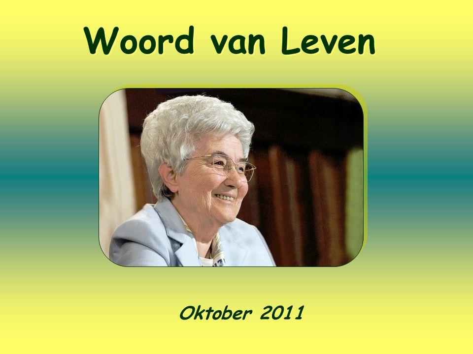 Woord van Leven Oktober 2011