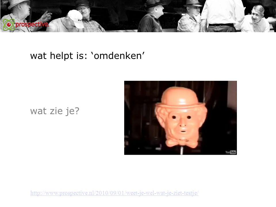 wat helpt is: 'omdenken' http://www.prospective.nl/2010/09/01/weet-je-wel-wat-je-ziet-testje/ wat zie je