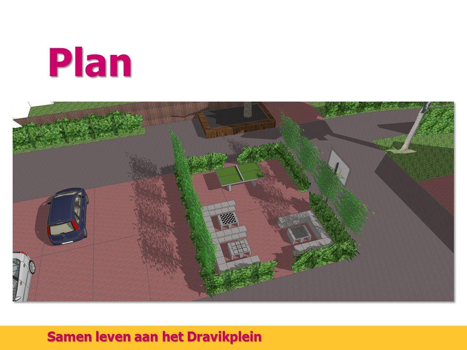 Plan Samen leven aan het Dravikplein