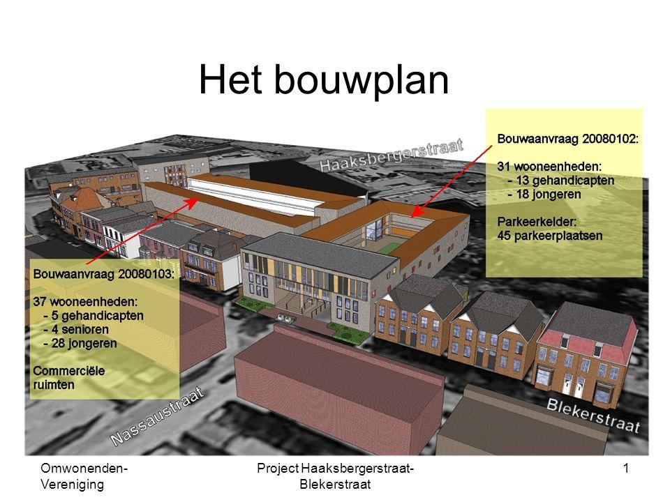 Omwonenden- Vereniging Project Haaksbergerstraat- Blekerstraat 1 Het bouwplan