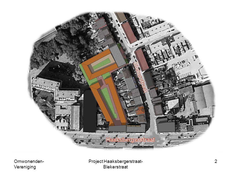 Omwonenden- Vereniging Project Haaksbergerstraat- Blekerstraat 2