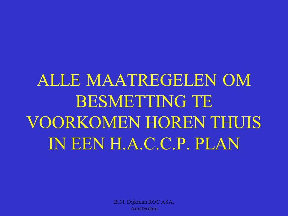 B.M. Dijkman ROC ASA, Amsterdam Wat kunnen we doen om dit allemaal te voorkomen ????