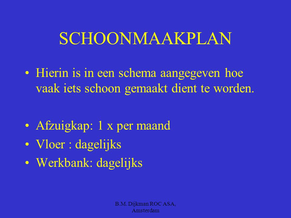 B.M. Dijkman ROC ASA, Amsterdam ONGEDIERTE BESTRIJDING Muizengif Vliegenvangers Allerlei methoden om ongedierte te bestrijden d.m.v. gif en verspreidi