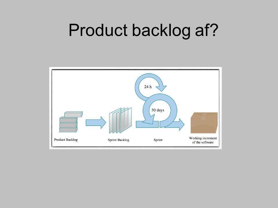 Scrum = iterair+lineair voor software Maken: Product backlog Sprint backlog Doen: Sprints Daily Scrum Hebben: Whiteboard + post-its Multi-disciplinair team