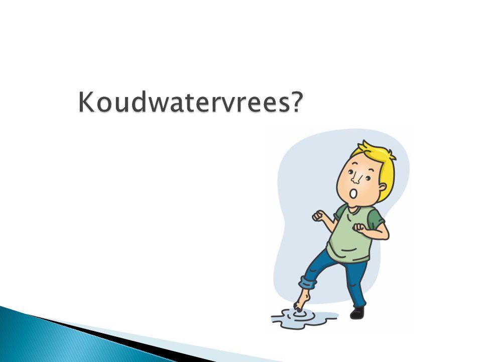 Koudwatervrees?