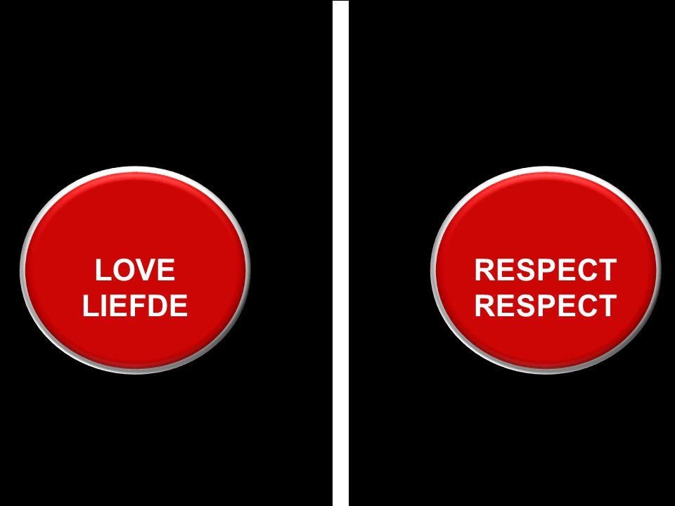 RESPECTRESPECT LOVE LIEFDE