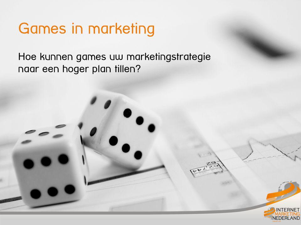 Hoe kunnen games uw marketingstrategie naar een hoger plan tillen