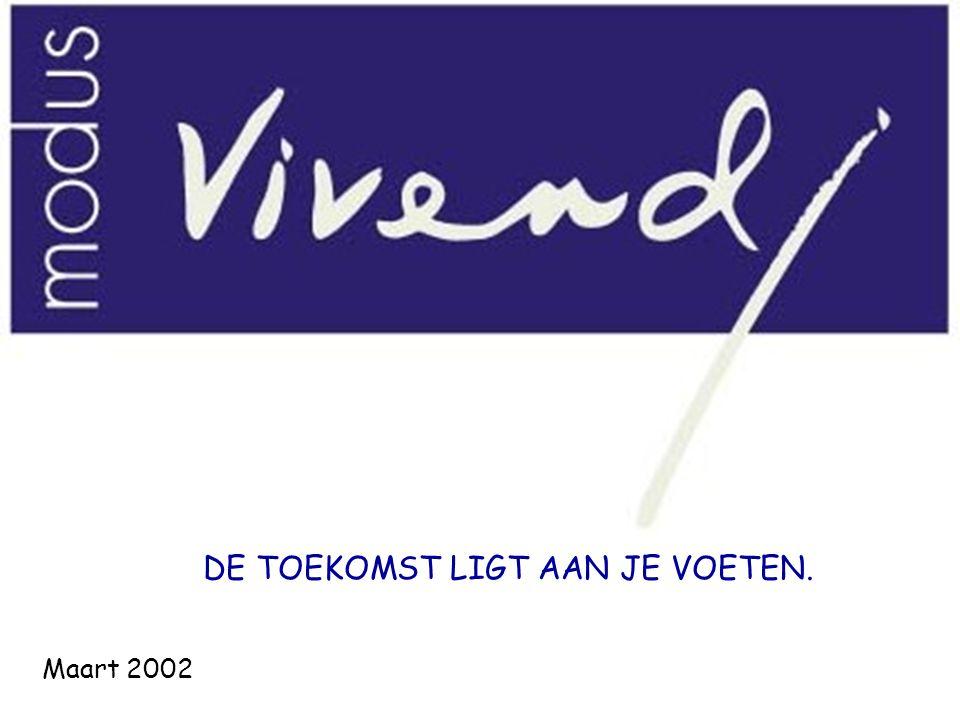 DIE DE TOEKOMST LIGT AAN JE VOETEN. Maart 2002