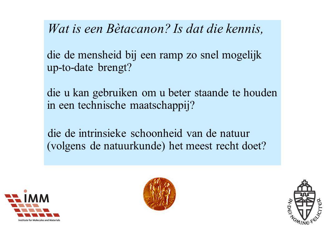 Wat is een Bètacanon.