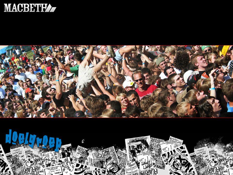 Waardering Netwerk -Myspace -Gesponsorde bands (fans!) -Schoonheid -Rock cultuur -Foto's en videos op site -Macbeth podia en feesten Schoonheid -Modebewust -Schoonheid uit apartheid -Details Vrijheid -Muziek -Ruig en no limits -Skatersscene -Vrije tijds schoenen & kleding Waarheid -Kwaliteit -Veganistische schoenenlijn -Idealistisch en transparantie -Zelfuitting -Weerspiegelt karakter -Respect Waardering