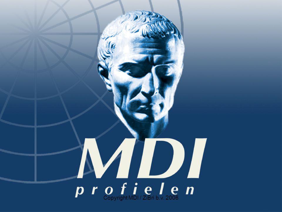 Copyright MDI / ZiBri b.v. 2006