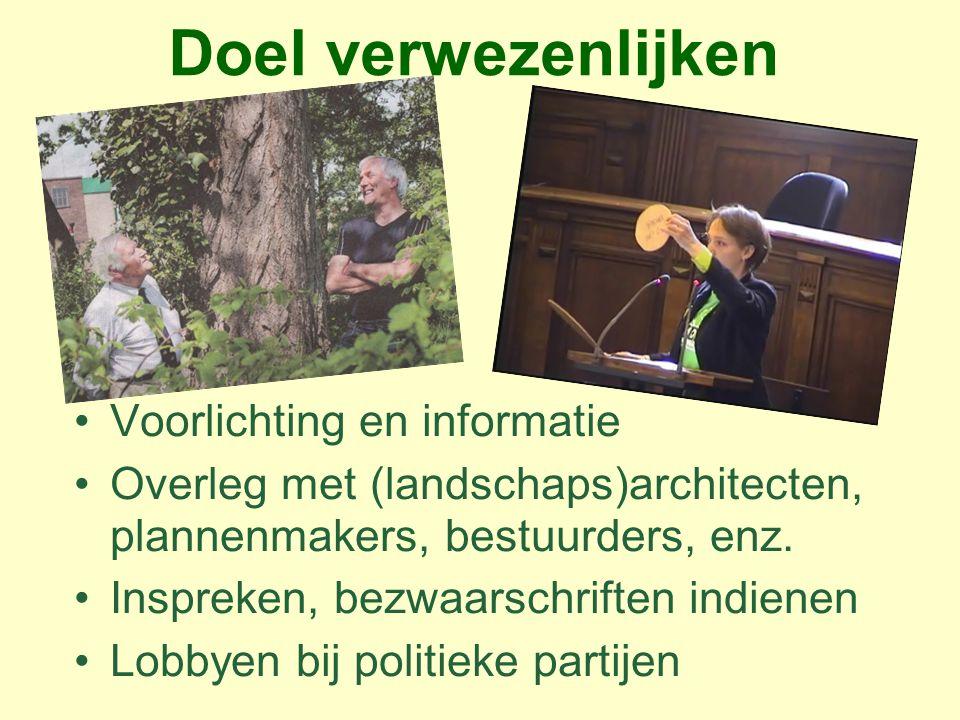 Gemeentelijke Bomenstructuurvisie Algemene Plaatselijke Verordening (APV) § 4.11  wijziging per 1 juli 2013 i.v.m.