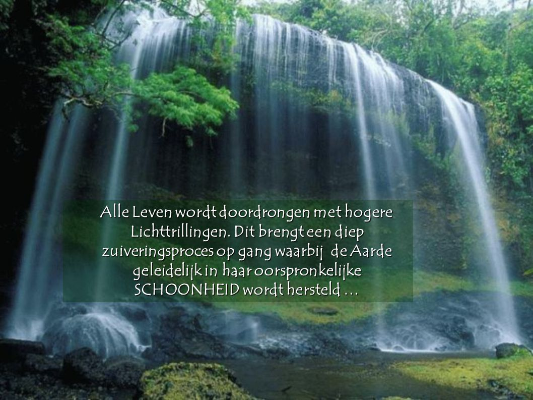 De Nieuwe Aarde wordt gedragen door een weten dat we allemaal met elkaar VERBONDEN zijn. Dit Eenheidsgevoel schept oneindig veel mogelijkheden tot gro