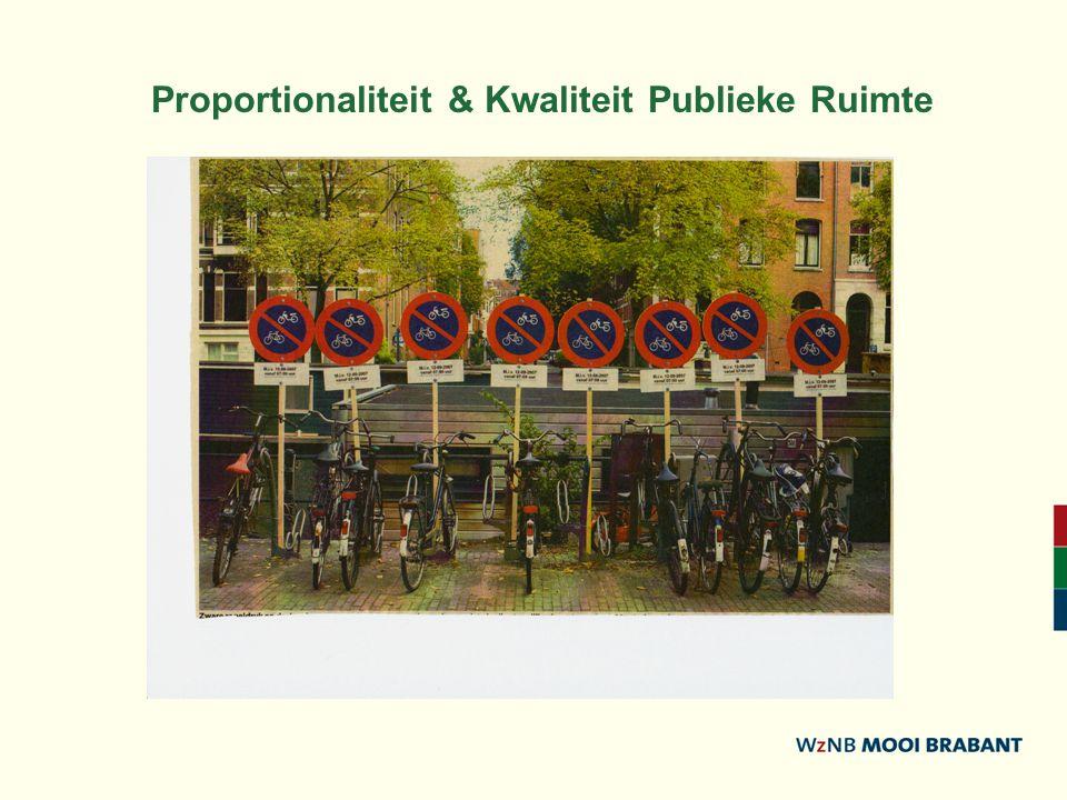 Proportionaliteit & Kwaliteit Publieke Ruimte