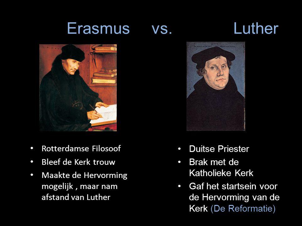 Erasmus vs.