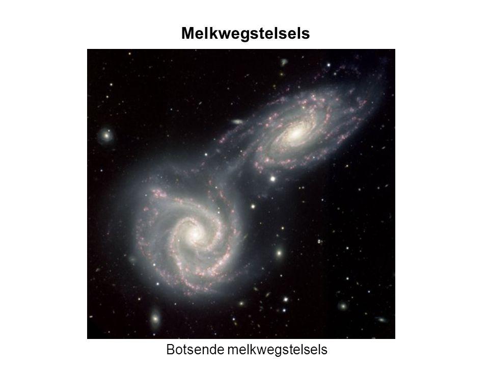 Botsende melkwegstelsels Melkwegstelsels