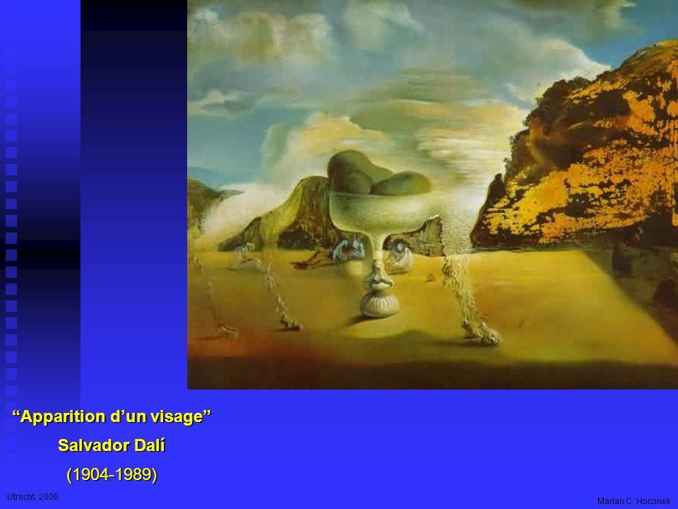 Utrecht, 2006 Marian C. Horzinek Apparition d'un visage Salvador Dalí (1904-1989)