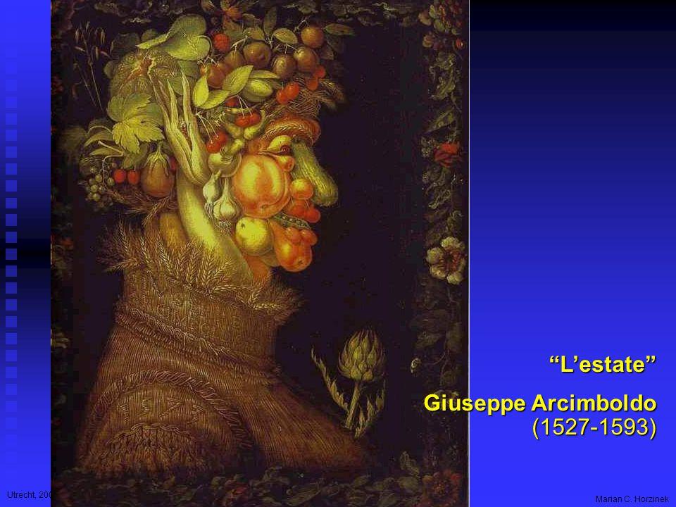 Utrecht, 2006 Marian C. Horzinek L'estate Giuseppe Arcimboldo (1527-1593)