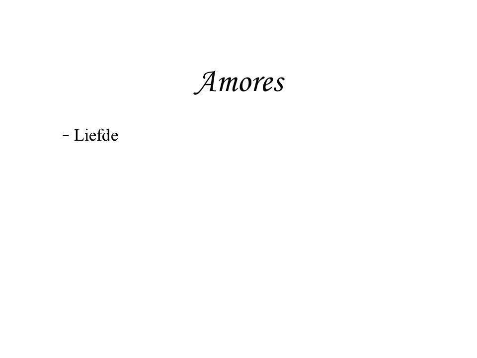 Ars amatoria -boek I en II: hoe moet een man een vrouw versieren - boek III: hoe moet een vrouw een man versieren - Augustus