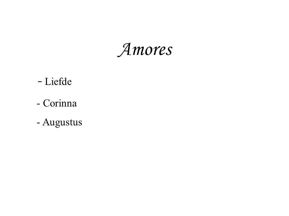 Amores, boek I, 5 In zinderende hitte was het middaguur gekomen; om uit te rusten lag ik languit midden op het bed.
