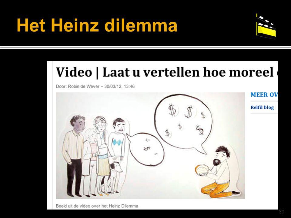 © drs. Caroline Heijmans   heijmans@ator-opleidingen.nl Het Heinz dilemma 30