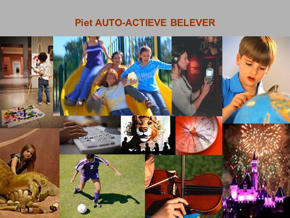 Piet AUTO-ACTIEVE BELEVER