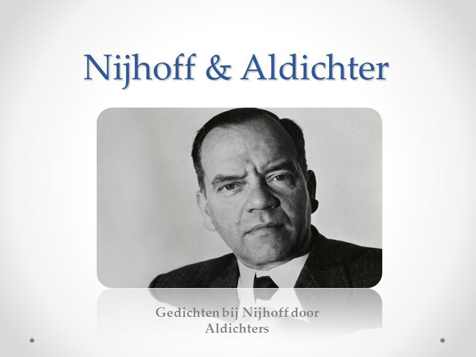 Gedichten bij Nijhoff door Aldichters Nijhoff & Aldichter
