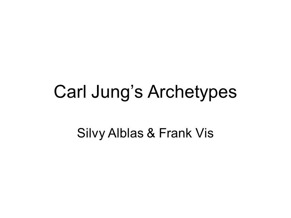 Carl Jung's Archetypes Silvy Alblas & Frank Vis