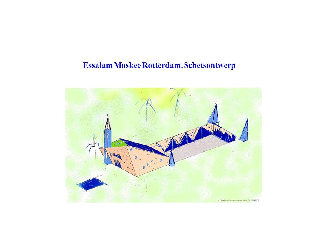Essalam Moskee Rotterdam, Schetsontwerp