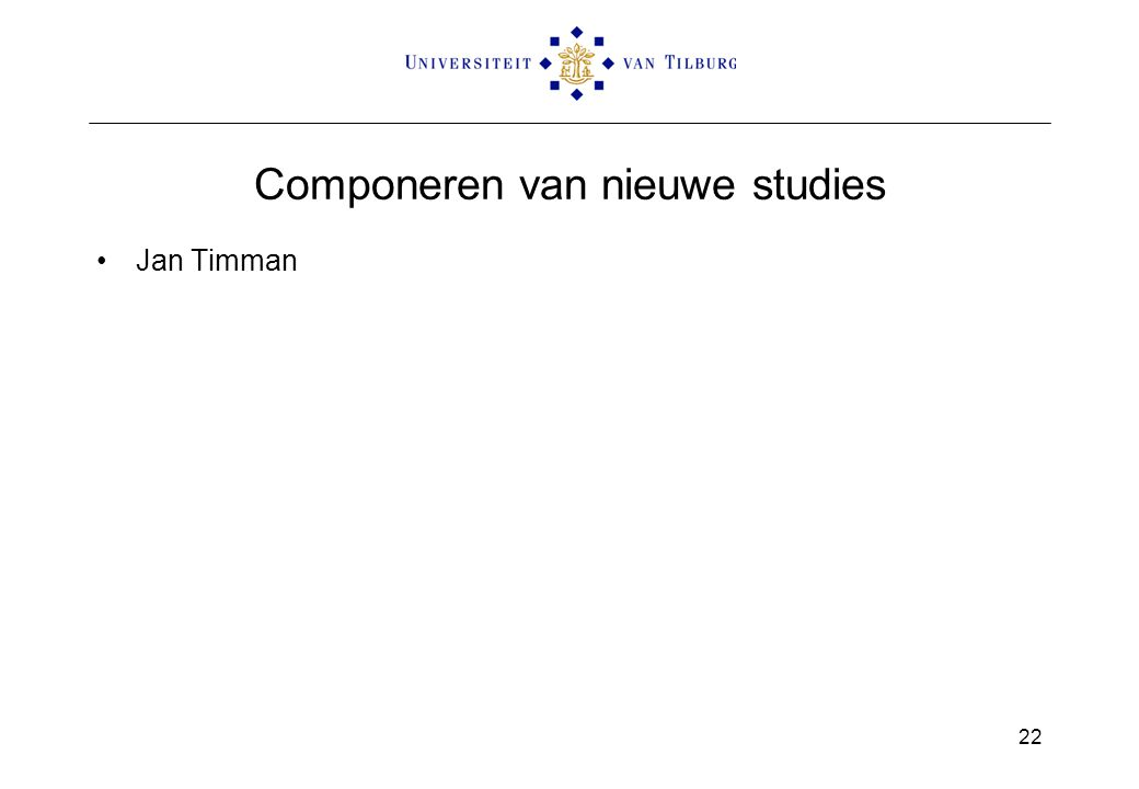 Componeren van nieuwe studies Jan Timman 22