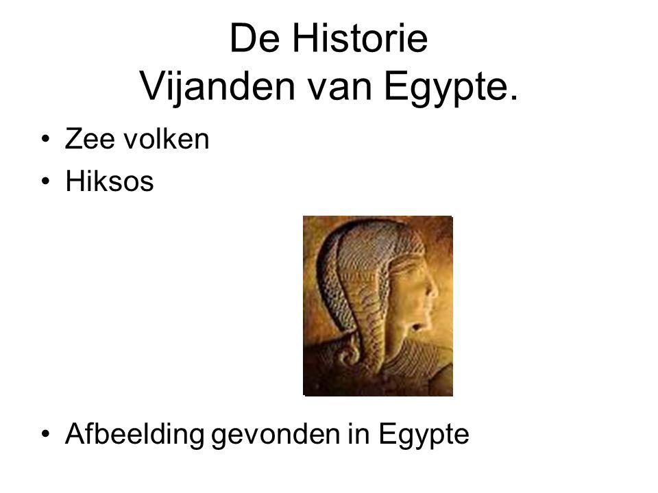De Historie Vijanden van Egypte. Zee volken Hiksos Afbeelding gevonden in Egypte
