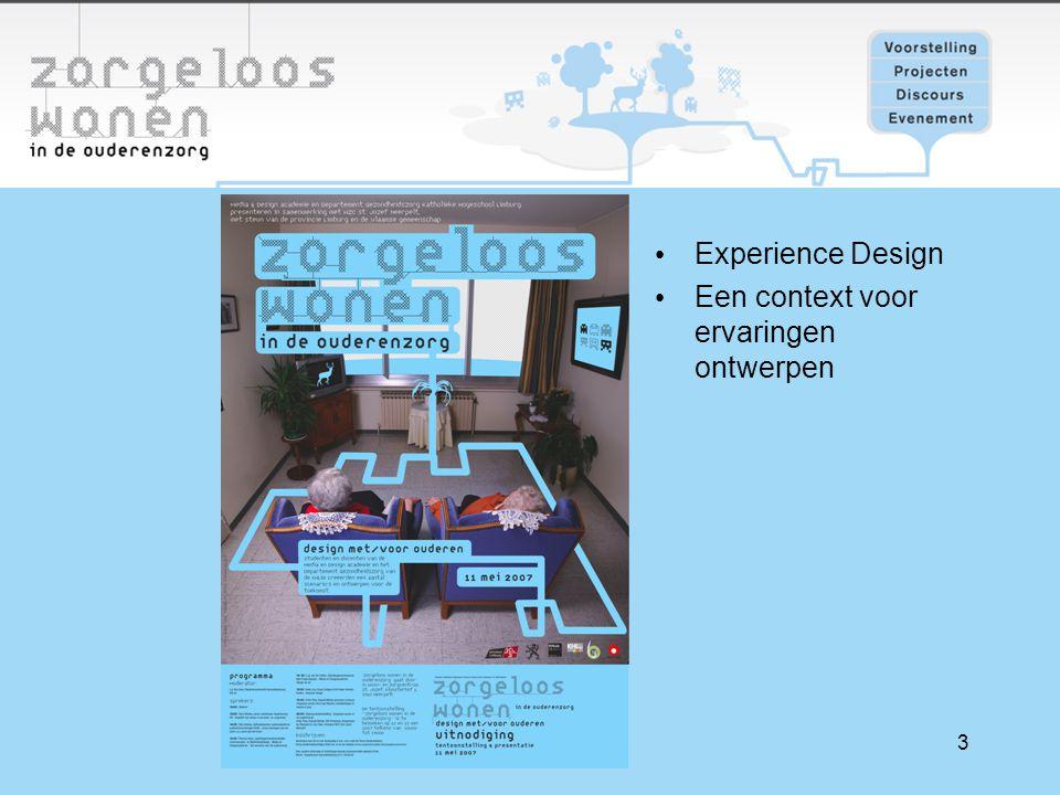 3 Experience Design Een context voor ervaringen ontwerpen