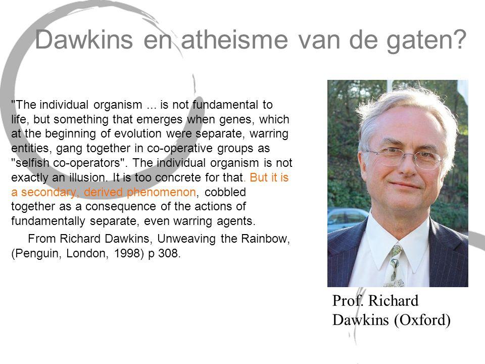 Dawkins en atheisme van de gaten?