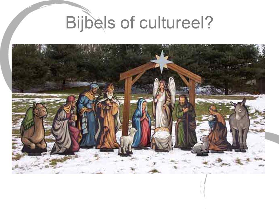 Bijbels of cultureel?