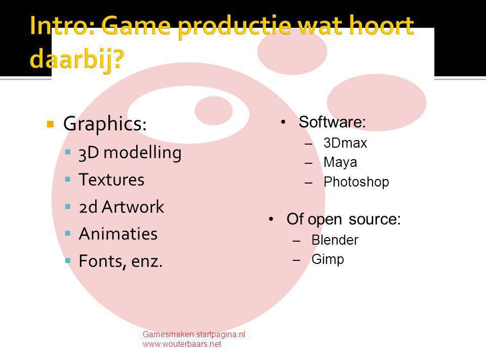 Programmeren: - C (++) - Scripting - Speciale platforms (bv webgames) Gamesmaken.startpagina.nl www.wouterbaars.net Property schipangle,radius,richting,snelheid --later energy en dergelijke toevoegen on getpropertyDescriptionList me list = [] addProp list, #richting,[#comment richting in hoek ,#format #float,#default0.05] addProp list, #snelheid,[#comment snelheid ,#format #integer,#default5] return list end on exitframe me -- verplaatsing schotel radius = sqrt(power(abs(sprite(me.spritenum).loch- sprite(2).loch),2) + power(abs(sprite(me.spritenum).locv- sprite(2).locv),2))