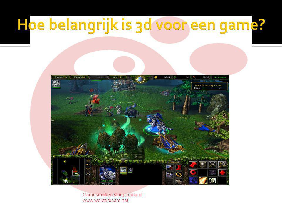 Programmeren in C of in een scripttaal? Gamesmaken.startpagina.nl www.wouterbaars.net