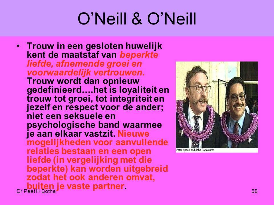 """Dr Peet H Botha57 Mark Olsen """"... ik heb Gods zegen gezien en hoe Hij homoseksuele christenen gebruikt die met elkaar verenigd zijn in een liefdevolle"""