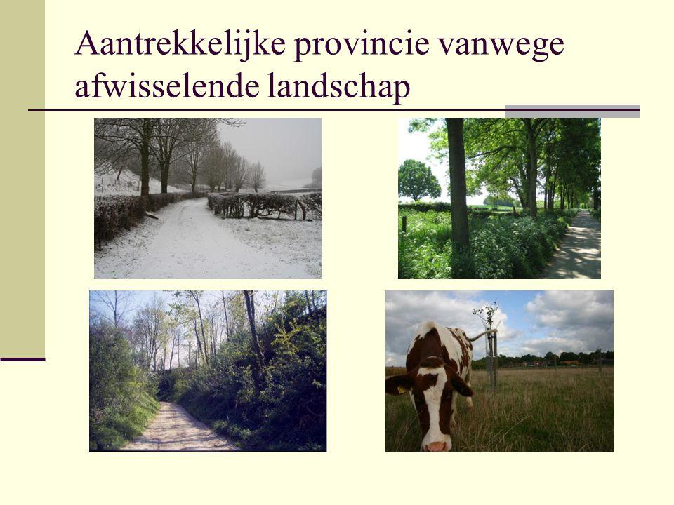 Landschap is niet alleen een plaatje Wordt ook gewoond, gewerkt en gerecreëerd.