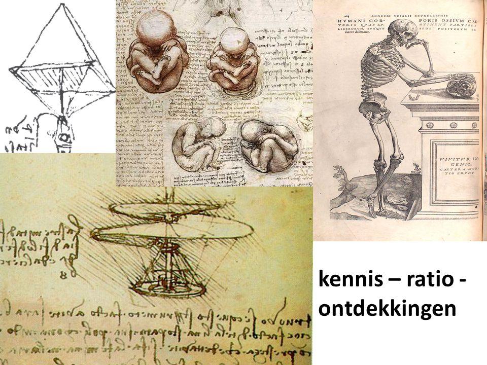 kennis – ratio - ontdekkingen