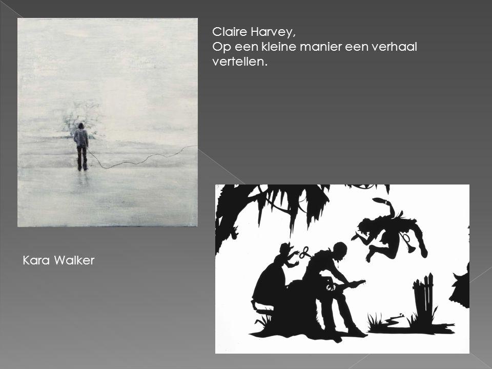 Claire Harvey, Op een kleine manier een verhaal vertellen. Kara Walker
