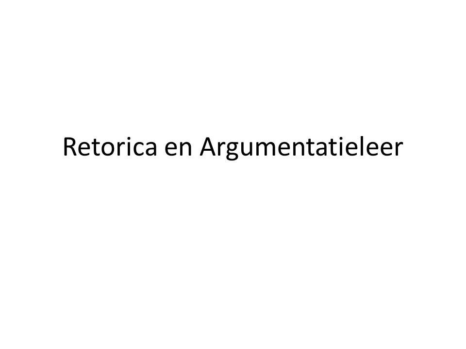 Retorica en Argumentatieleer