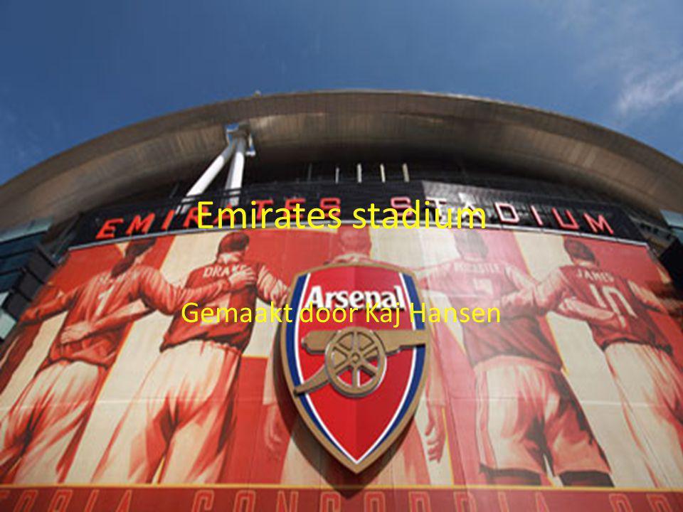 Emirates stadium Gemaakt door Kaj Hansen