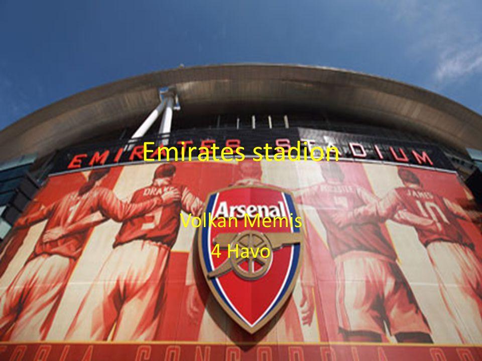 Emirates stadion Volkan Memis 4 Havo