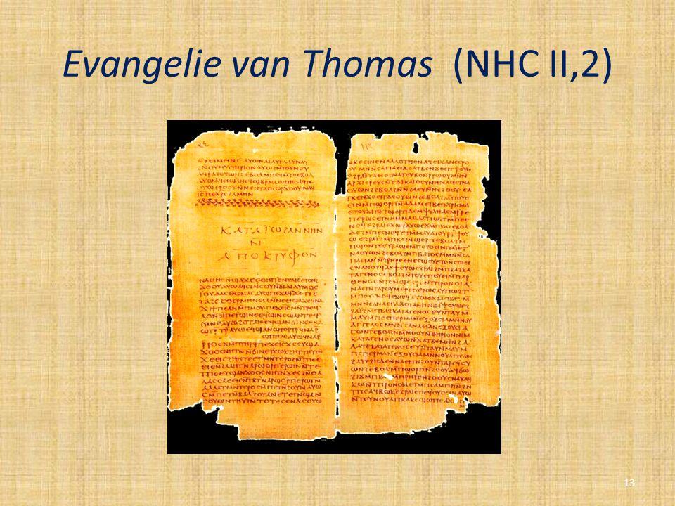 Evangelie van Thomas (NHC II,2) 13